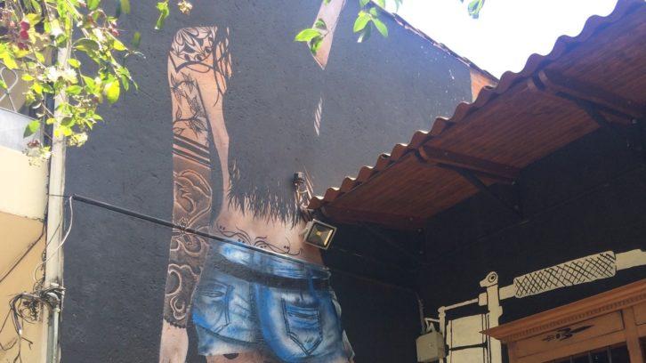 Farbe versus Beton